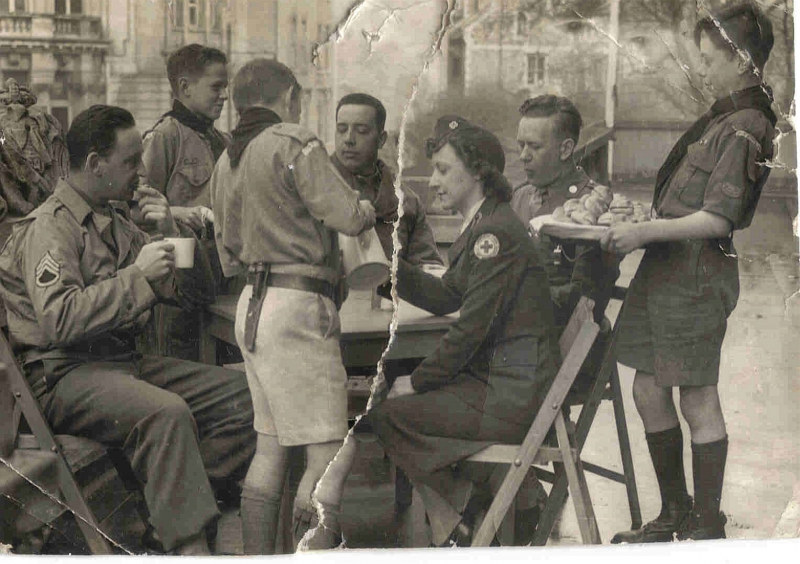 WAIR Service with Americans 1940's